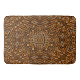 Rustic Scales Colorful Bath Mats