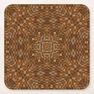 Rustic Scales Colorful Coasters