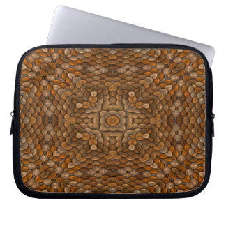 Rustic Scales Colorful Neoprene Laptop Sleeves