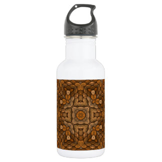 Rustic Scales Colorful Water Bottles