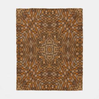 Rustic Scales Custom Fleece Blanket 3 sizes