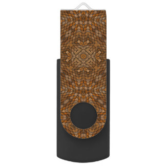 Rustic Scales  Kaleidos USB Flashdrive Flash Drive