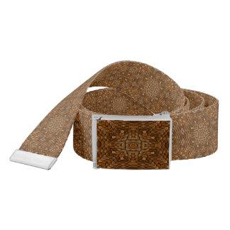 Rustic Scales Kaleidoscope   Custom Belts