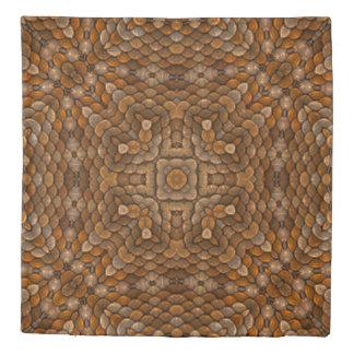 Rustic Scales Kaleidoscope   Duvet Covers