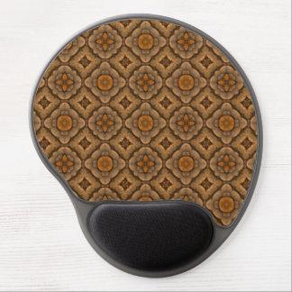 Rustic Scales Vintage Kaleidoscope Gel Mousepad