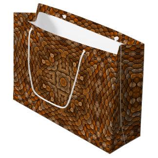Rustic Scales Vintage Kaleidoscope   Gift Bags