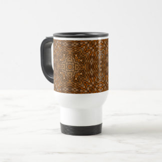 Rustic Scales Vintage Kaleidoscope Travel Mug