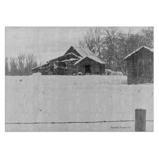 Rustic Shacks Photo Art Cutting Board