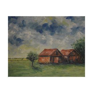 Rustic Sheds Canvas Print