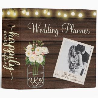 Rustic Simplicity  Wedding Planner Binder