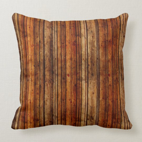 Rustic Striped Pillow