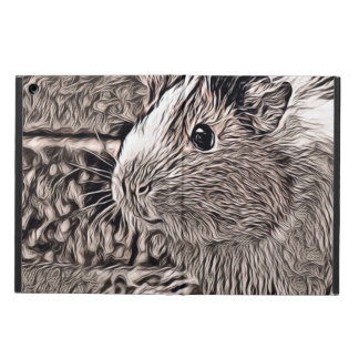 rustic style -guinea pig iPad air cover