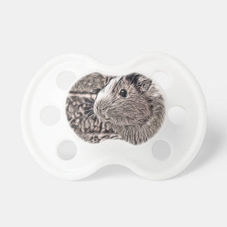 rustic style -guinea pig pacifier