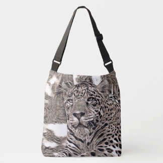 rustic style - jaguar crossbody bag