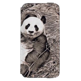 Rustic Style - Panda Incipio Watson™ iPhone 6 Wallet Case