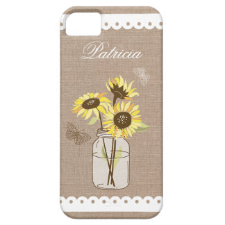Rustic Sunflowers Case