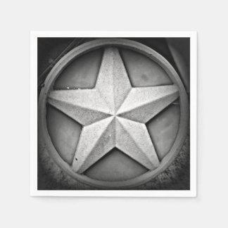 Rustic Texas Lonestar Paper Napkin