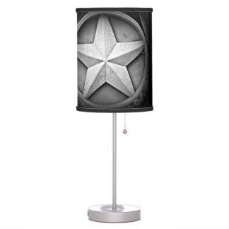 Rustic Texas Lonestar Table Lamp