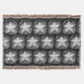 Rustic Texas Lonestar Throw Blanket