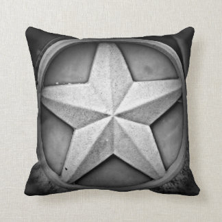 Rustic Texas Lonestar Throw Pillow