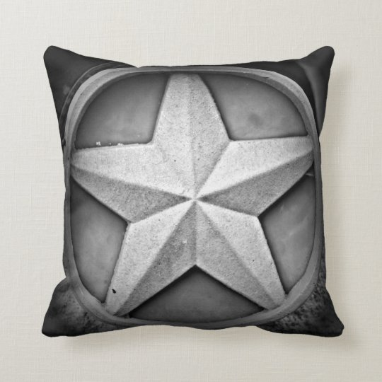 Rustic Texas Lonestar Throw Pillow