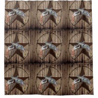 rustic texas star cowboy pistols western country
