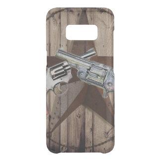 rustic texas star cowboy western country dual gun uncommon samsung galaxy s8 case