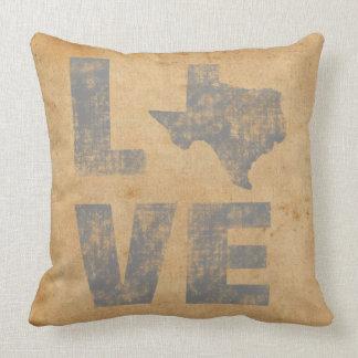 Rustic Texas Throw Pillow