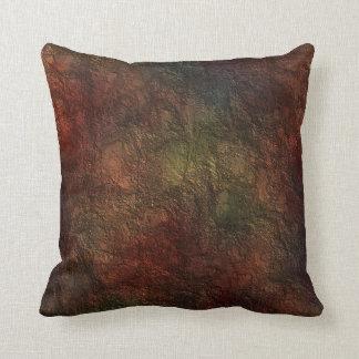 Rustic Texture Throw Pillow