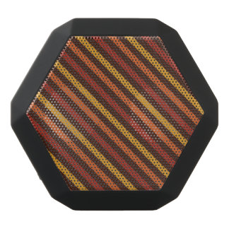 Rustic Thanksgiving Holiday Fall Autumn Colorful Black Bluetooth Speaker