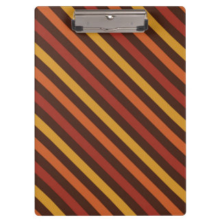 Rustic Thanksgiving Holiday Fall Autumn Colorful Clipboard