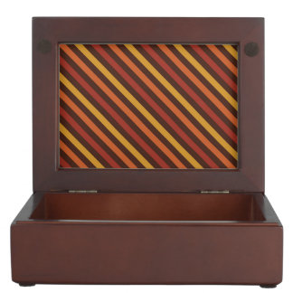 Rustic Thanksgiving Holiday Fall Autumn Colorful Keepsake Boxes