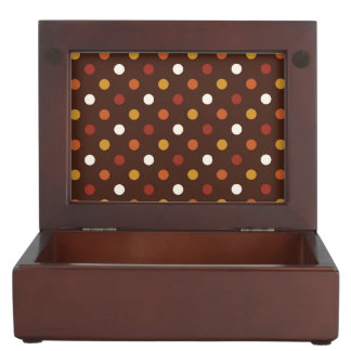 Rustic Thanksgiving Holiday Fall Autumn Colorful Memory Boxes