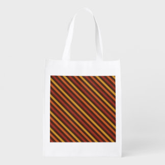 Rustic Thanksgiving Holiday Fall Autumn Colorful Reusable Grocery Bag