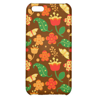 Rustic Thanksgiving Holiday Fall Autumn iPhone 5C Case