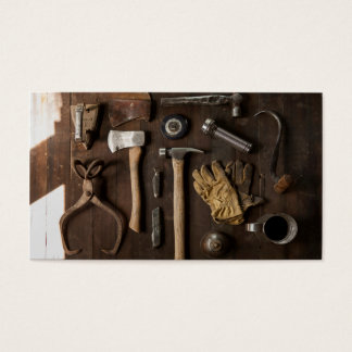 Rustic Tools Business Card