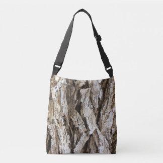 Rustic Tree Bark Camo Tote
