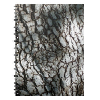 Rustic tree bark notebooks