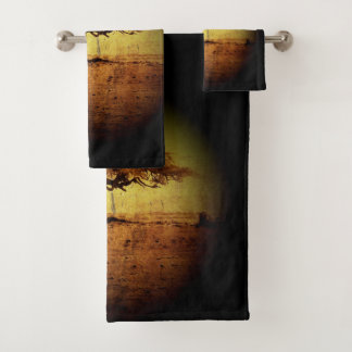 Rustic Tree Bath Towel Set