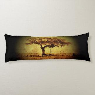 Rustic Tree Body Pillow
