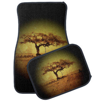 Rustic Tree Car and Truck Mats Auto Mat