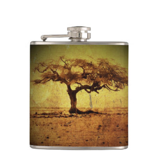 Rustic Tree Hip Flask