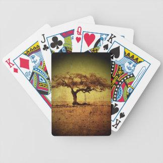 Rustic Tree Poker Deck