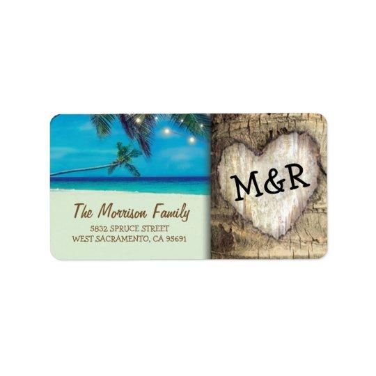 Rustic Tropical Beach Destination Wedding