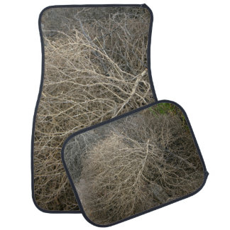 Rustic Tumbleweed Car Mat Set