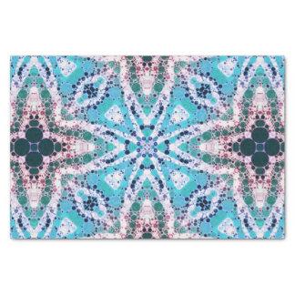 Rustic Turquoise Animal Print Tissue Paper