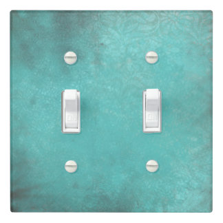 Rustic Turquoise Antique | Light Switch Cover