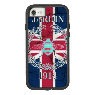 Rustic Union Jack Flag queen jubilee french bee Case-Mate Tough Extreme iPhone 8/7 Case