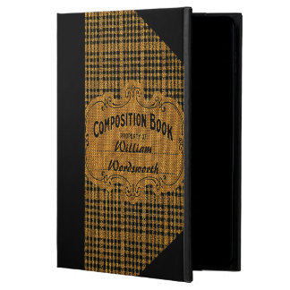 Rustic Vintage Composition Book Powis iPad Air 2 Case