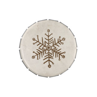 Rustic Vintage Snowflake